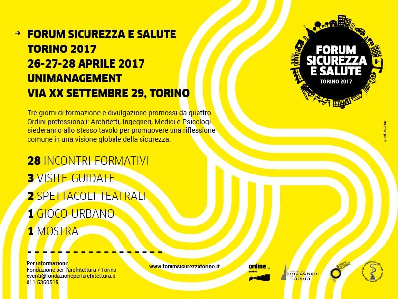 OAT: Forum Sicurezza e Salute 2017