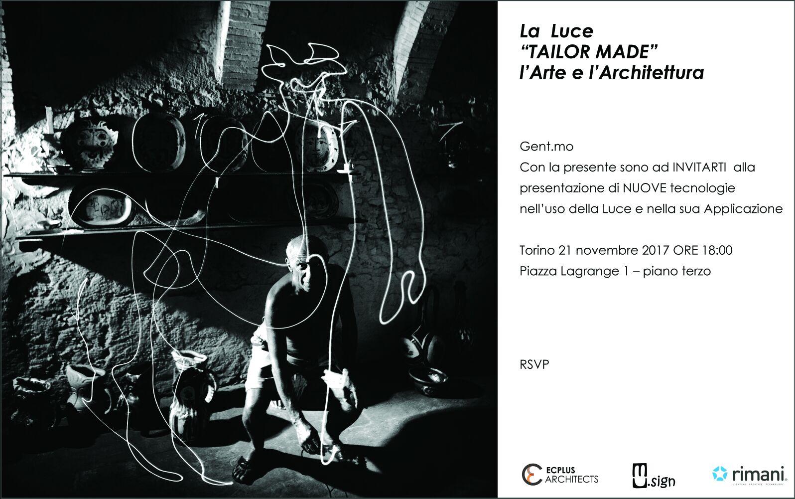 """La Luce """"Tailor Made"""", l'Arte e l'Architettura"""